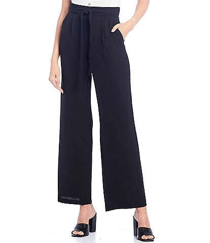 I.N. San Francisco Paperbag Waist Wide Leg Pants