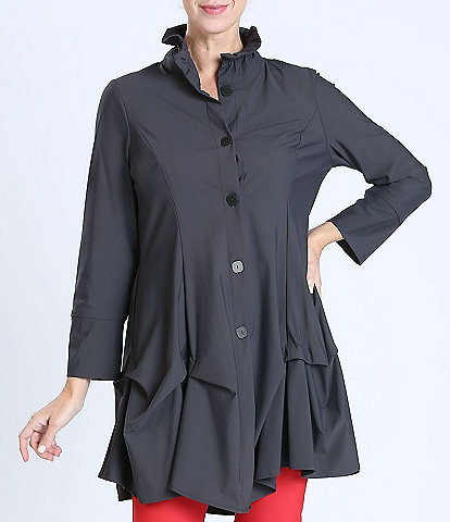 IC Collection Long Sleeve High Neck Jacket