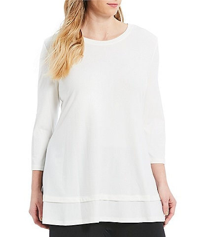 IC Collection Plus Size Basic Top