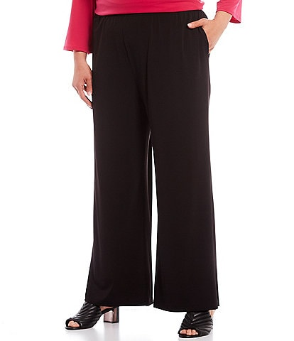 IC Collection Plus Wide-Leg Pants