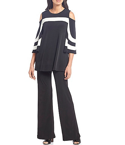 IC Collection High Rise Wide Leg Pants