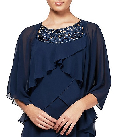 Ignite Evenings Multi Wear Chiffon Shawl