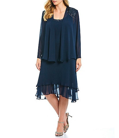 072e8eb7956 Plus-Size Cocktail & Party Dresses | Dillard's