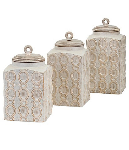 Imax Dreanna Canisters, Set of 3