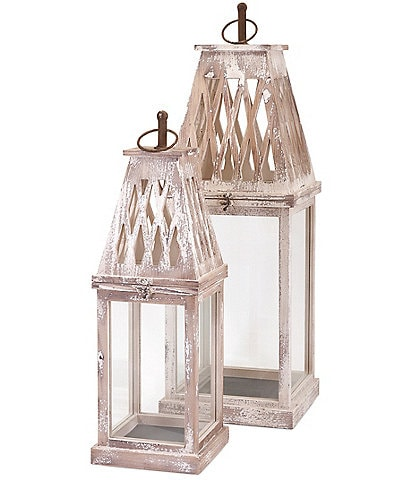 Imax Ramsey Lanterns Set of 2