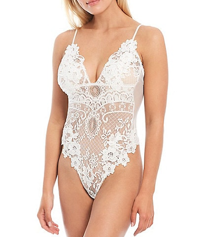 In Bloom by Jonquil Vintage Lace Teddy