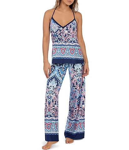 In Bloom by Jonquil Berkeley Tapestry Printed Knit Pajama Set