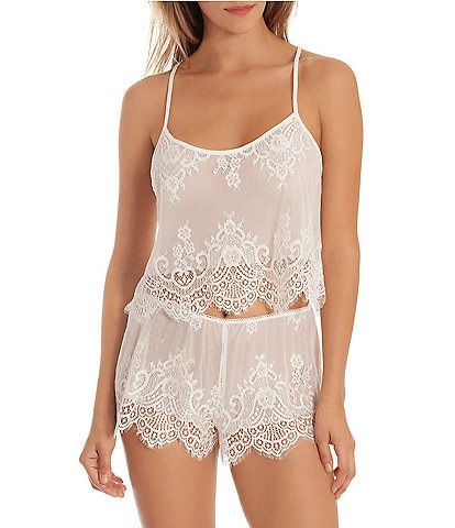 87b5e000cc In Bloom by Jonquil Lace Shorty Pajama Set