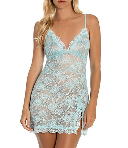 In Bloom by Jonquil Allover Stretch Lace Chemise