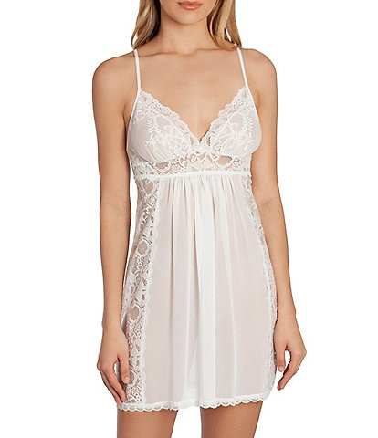In Bloom by Jonquil Sugar Chiffon & Lace Chemise