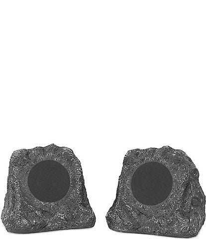 Innovative Technology Victrola Wireless Waterproof Rechargeable Bluetooth Outdoor Rock Speakers