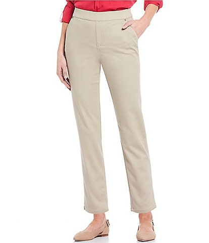 Intro Petite Size Rose Tummy Control Ankle Pants