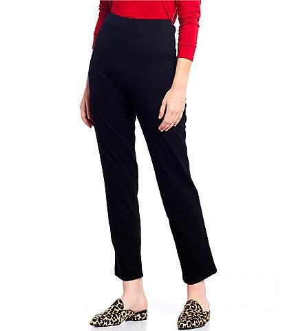 Intro Petite Size Teri Love the Fit Straight Leg Knit Leggings