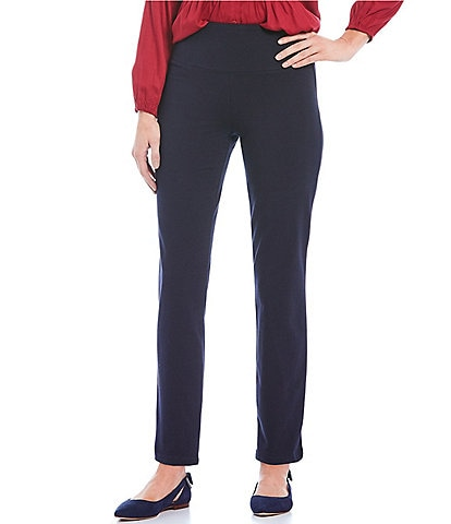 Intro Petite Size Teri Love the Fit Straight Leg Knit Leggings