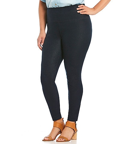 Intro Plus Size Love the Fit Slimming Denim Leggings