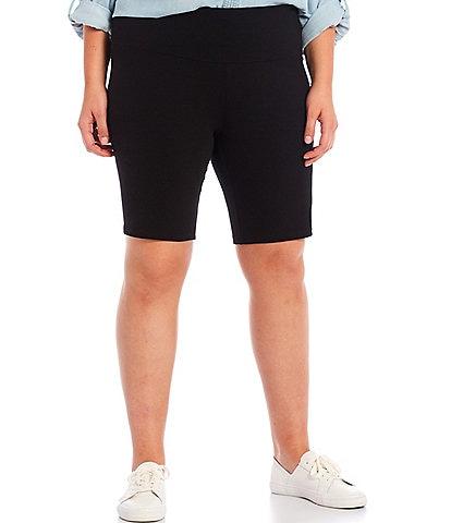 Intro Plus Size Teri Biker Love the Fit Shorts