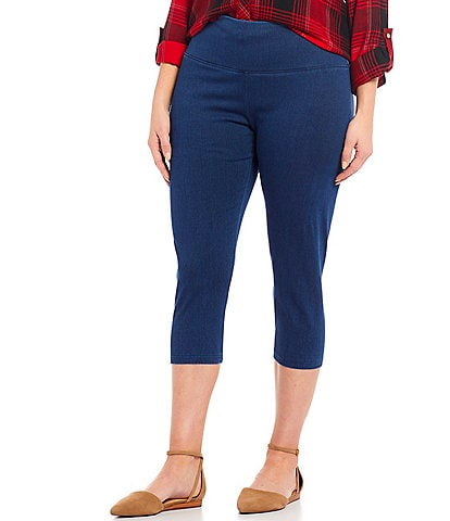 Intro Plus Size #double;Teri#double; Love The Fit Capri Leggings