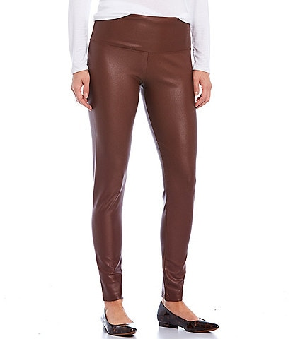 Intro Teri Love the Fit Faux Leather Leggings