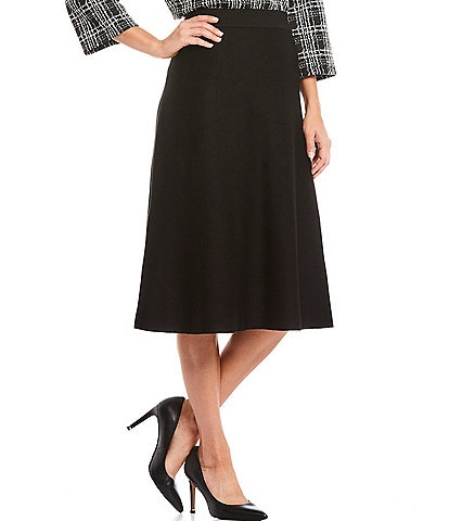 Investments Knit A-Line Skirt