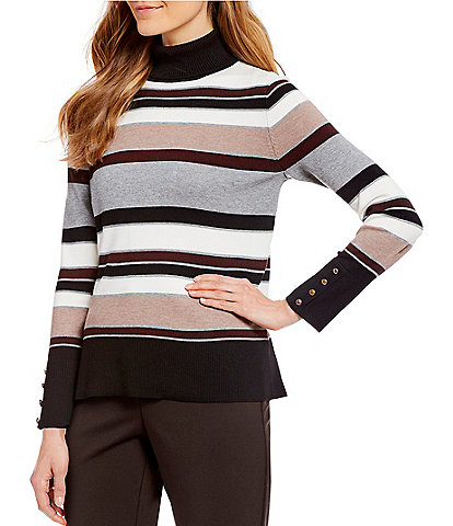 Investments Long Sleeve Turtleneck Sweater