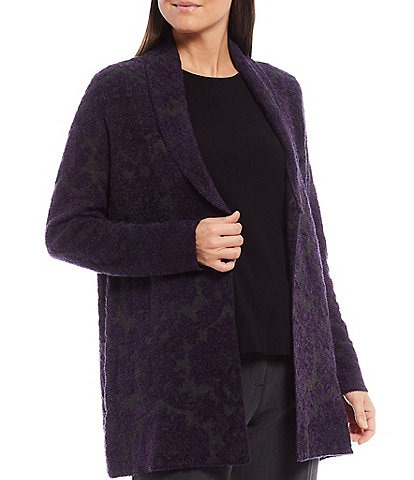 Investments Petite Size Long Sleeve Cardigan