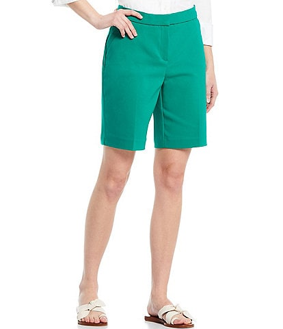 Investments Petite Size the 5th AVE fit Elite Stretch City Shorts