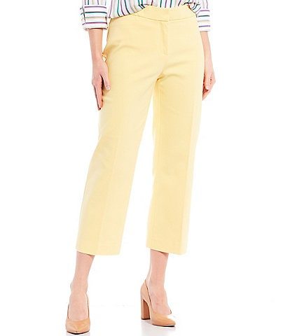 Investments Petite Size the 5th AVE fit Elite Stretch Crop Pants