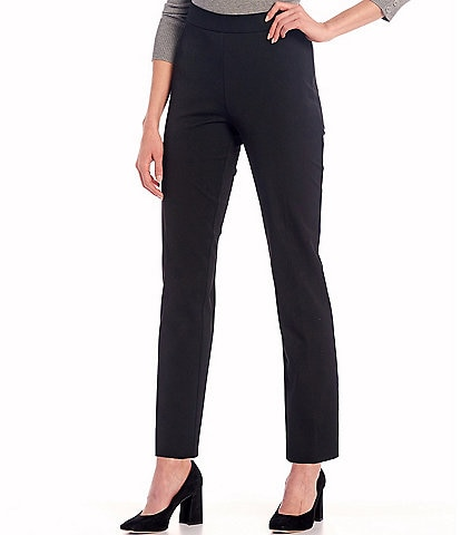 Investments Petite Size the 5th AVE fit Side Zip Slim Leg Pants