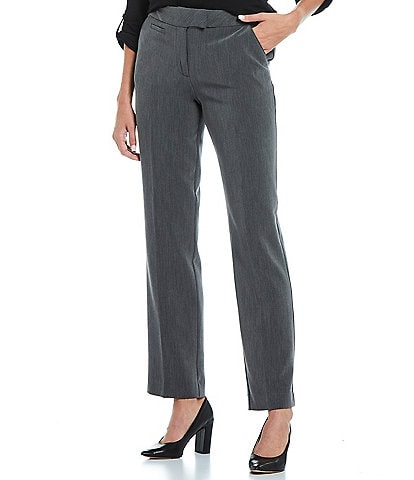 Investments Petite Size the 5TH AVE fit Straight Leg Pants