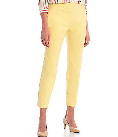 Investments Petite Size the PARK AVE fit Elite Stretch Pocket Ankle Pants