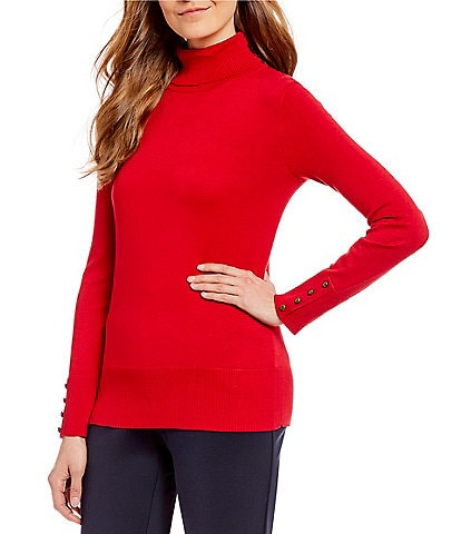 Investments Petite Size Turtleneck Sweater