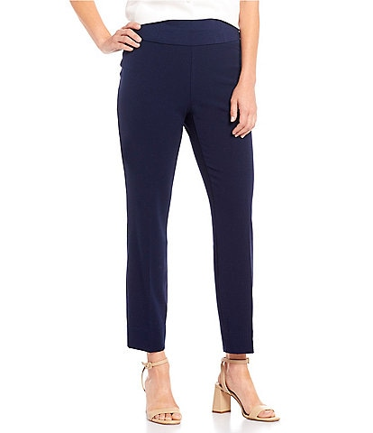 Investments Petites the PARK AVE fit Classic Ankle Pants