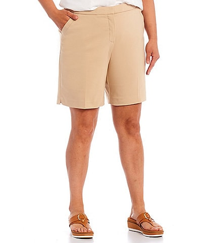 Investments Plus Size the 5th AVE fit Elite Stretch City Short