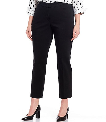 Investments Plus Size the 5th AVE fit Elite Stretch Crop Pant