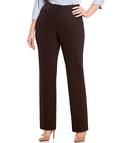 Investments Plus Size the 5TH AVE fit Straight Leg Pants