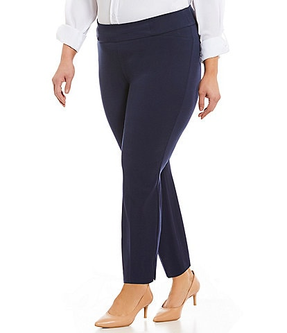 Investments Plus Size the PARK AVE fit Classic Ankle Pant