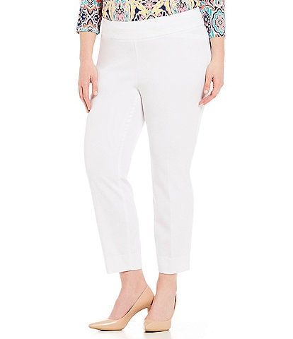 Investments Plus the PARK AVE fit Classic Ankle Pant