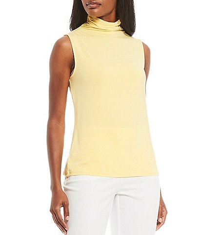 Investments Sleeveless Mock Neck Top