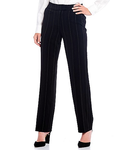 Investments the 5TH AVE fit Straight Leg Stripe Pants