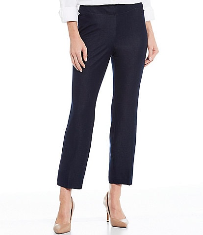 Investments the PARK AVE fit Elite Stretch Indigo Ankle Pants