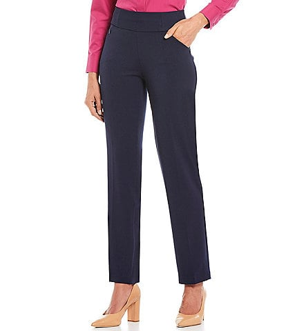 Investments the PARK AVE fit Stretch Straight Leg Pull-On Pant with Pockets