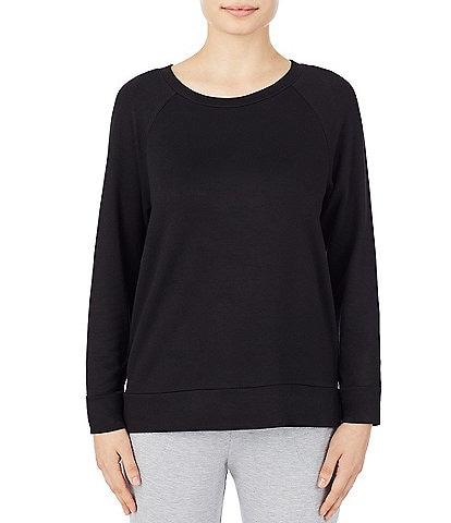 Irelax Brushed French Terry Raglan Sleep Top