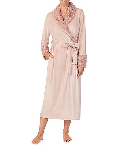 Irelax Double Face Velour Long Wrap Robe