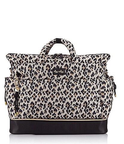 Itzy Ritzy Dream Weekender Leopard Hospital & Travel Bag