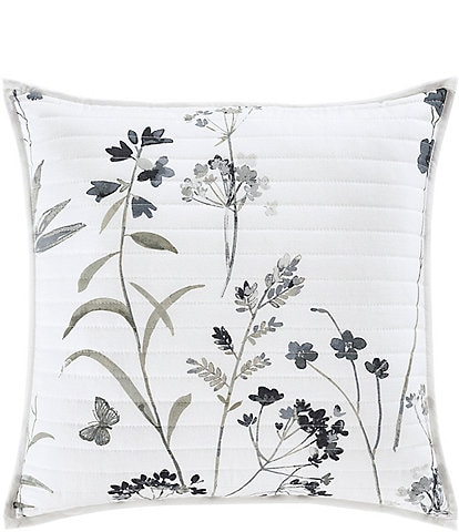 J. by J. Queen New York Bridget Square Quilted Decorative Throw Pillow