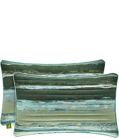 J. By J. Queen New York Cordoba Quilted Boudoir Pillow