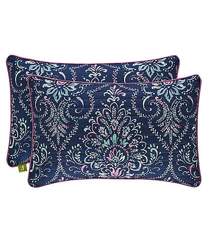 J. By J. Queen New York Kayani Quilted Boudoir Pillow
