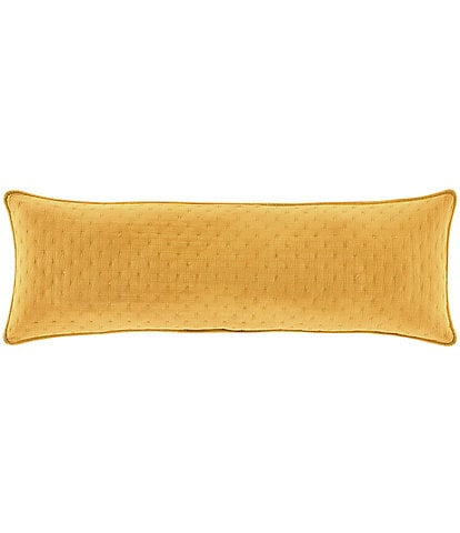 J. by J. Queen New York Nora Quilted Bolster Pillow