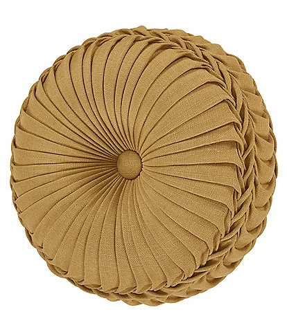 J. Queen New York Alexandra Tufted Round Pillow