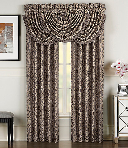 J. Queen New York Astoria Damask Window Treatments